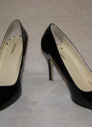 Чёрные туфли 37 размер #розвантажуюсь