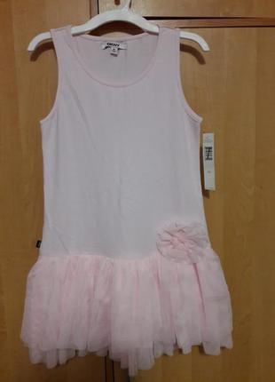 Нежное платье от dkny на 10 лет