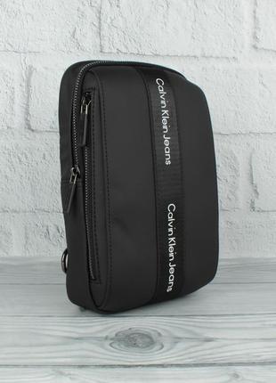 Мужская сумка-слинг через плечо, рюкзак 17629-2 текстильная