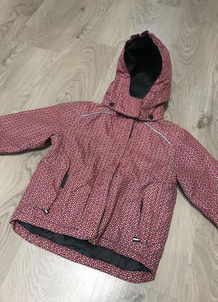 Демисезонная куртка lupilu для девочки 3-4 года