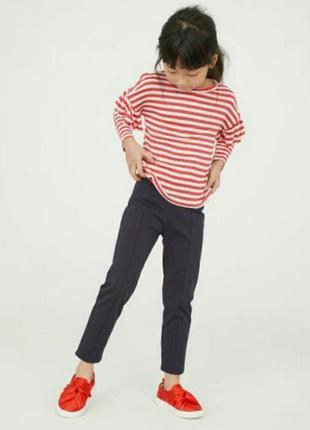 Стильные брюки штанишки девочке, на рост 116см