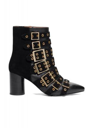 & other stories ботинки замшевые, кожаные