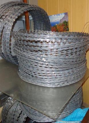 Заграждение колюче-режущее спиральное ЕГОЗА 600/5