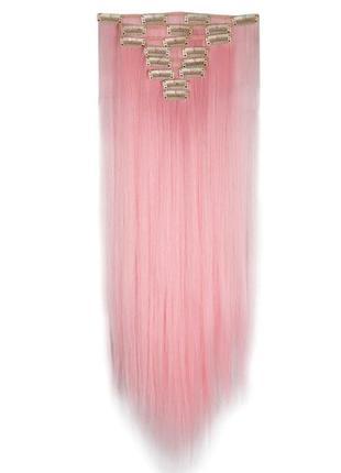 Розовые пряди набор тресс