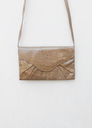 Маленькая сумочка клатч через плечо