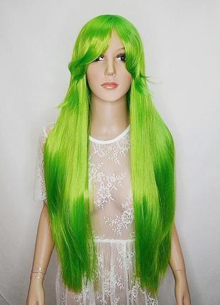 Парик зеленый