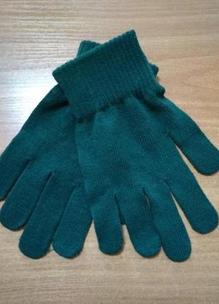 Перчатки для девочки на 9-12 лет