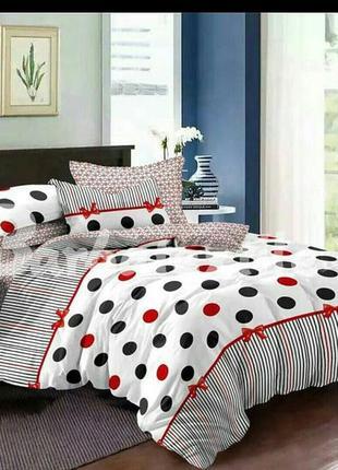 Постельный 2-спальный набор белья, качественный, в наличии