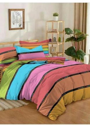 Королевский набор постельного белья, 2- спальный, насыщенный ц...