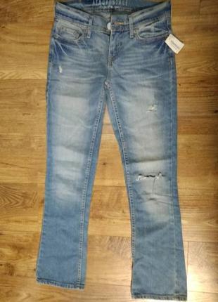 Новые рваные джинсы aeropostale, размер xs