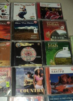 Продам коллекцию Этнической музыки диски MP3