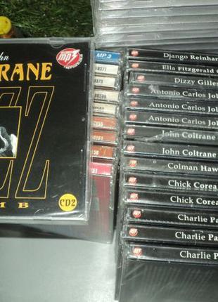 Продам музыкальные диски Джаз Jazz в MP3 формате