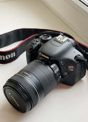 Canon 600D (Rebel T3i) kit 18-135 - Full HD видео