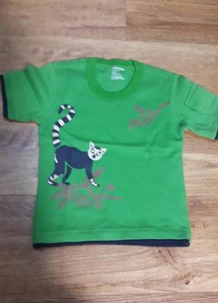 Милая футболка мальчику на 1-2 года, новая
