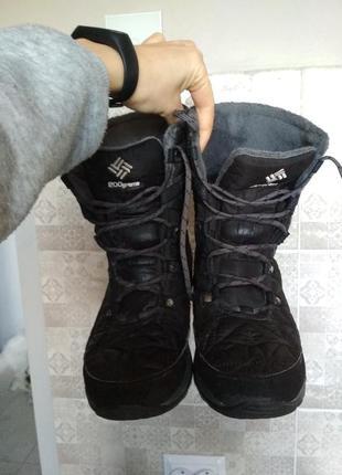 Зимние женские сапоги,трекинговые ботинки columbia omni-heat c...