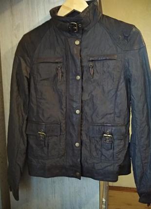 Куртка комбинированная с кожаными вставками tcm tchibo германи...