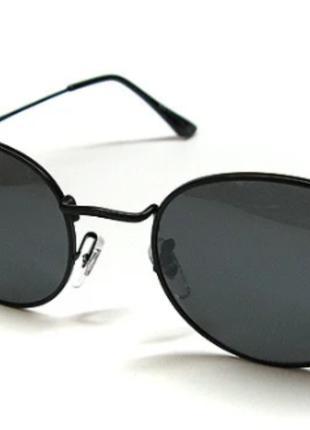 Очки солнцезащитные черные Ray Ban 3448 сн3235