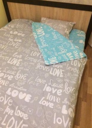 Постельный 2-спальный набор, хороший подарок на любой праздник...