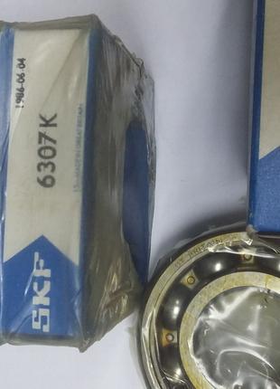 Подшипник SKF 6307 K  (Конический внутренний диаметр)