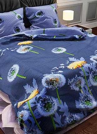 Красивое постельное белье в наличии одуванчики, несколько разм...