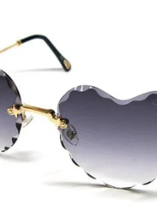 Очки солнцезащитные женские Сердца Chloe 5503 сн1