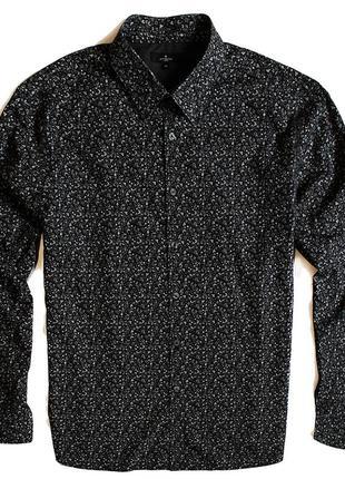 Мужская рубашка принт в цветах jeff banks