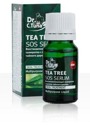 Сыворотка sos с маслом чайного дерева dr.tuna farmasi , 10мл
