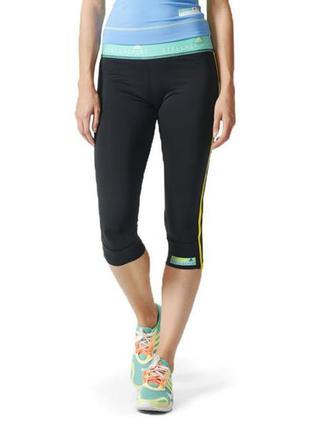 Спортивные леггинсы ниже колена, капри, бриджи adidas stellasp...