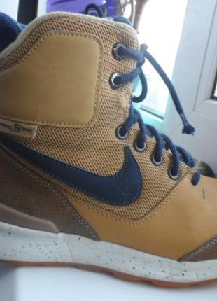 Nike оригинал,кожа,38р.