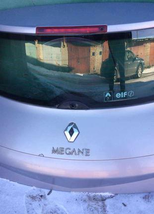 Б/у крышка багажника, ляда Renault Megane 2, 7751473705, хетчбэк