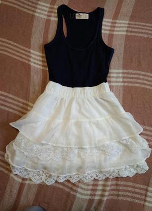Милое летнее платье для девушки xs