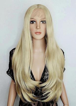 Парик на сетке длинный блондин