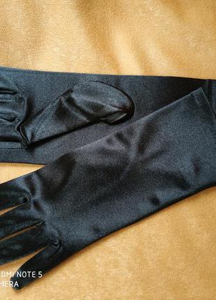 """Перчатки черные """"романия"""""""