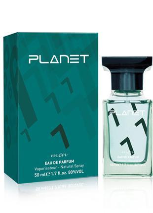 Парфюмированная вода PLANET EDP for Men Green №7