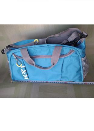Нова невелика синя спортивна пляжна сумка l&m (nike adidas und...