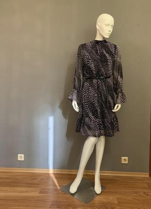 Стильное платье из креп шифона season