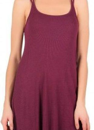 Платье майка фиолетового цвета, новое, размер м