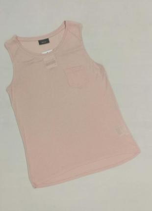 Летняя блуза персикового цвета, легкая, размер s