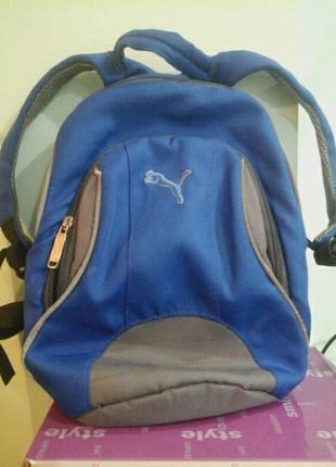 Рюкзак puma, 33×24×11, брезентовый