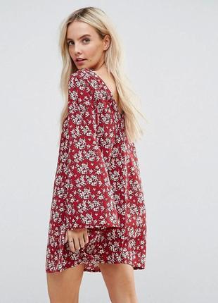 Гламурное платье в цветочек в стиле бохо glamorous petite