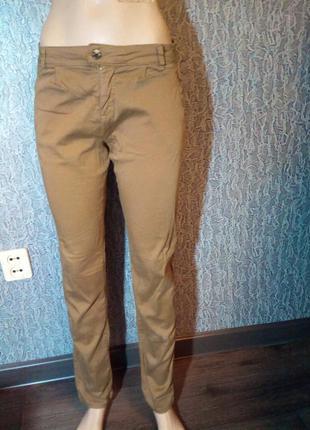 Супер брюки чиносы. bershka.