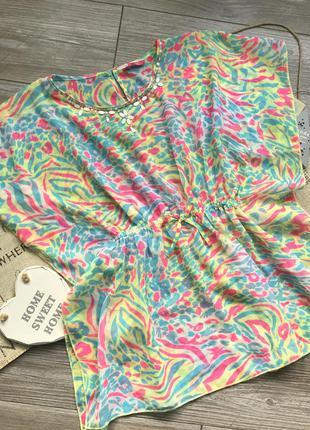Парео платье на купальник yd 11-12л