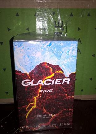 Туалетна вода glacier fire [ґлейшер фае]  код 34478   100  мл.