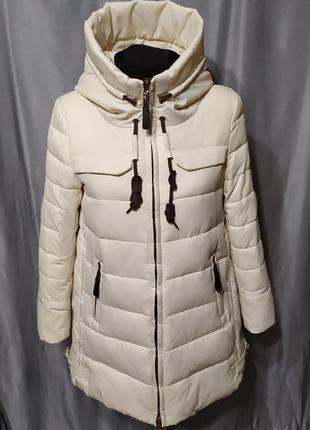 Куртка зимняя, белый пуховик namirong