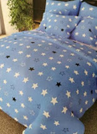 Постельный набор 1000 звезд, есть 2-спалка, евро, полуторка