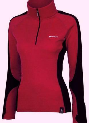 Термобелье Mountain Warenhouse Merino Womens Long Sleeved Zip Nec