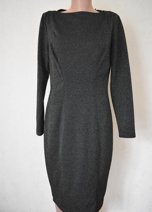 Новое красивое блестящее платье с корректирующей подкладкой tu