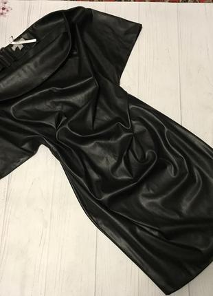 Платье новое кожаное от asos большой размер шикарное