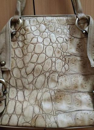 Сумка из крокодильей кожи