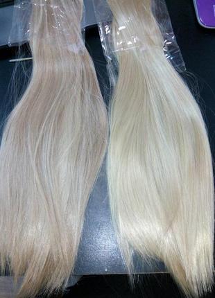 Трессы мелированные на заколках волосы пряди